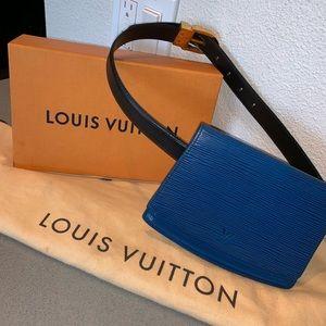 Authentic Louis Vuitton epi Tilsit bum waist bag